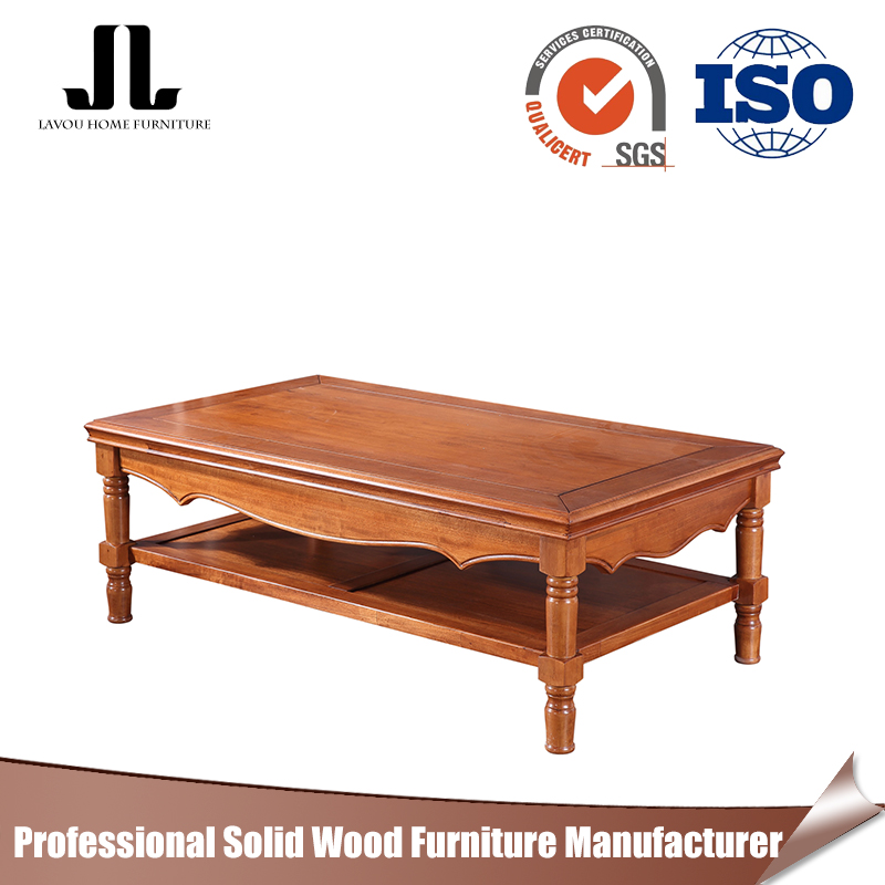 Low price of cheap wooden coffee table best selling living room furniture antique coffee tea table