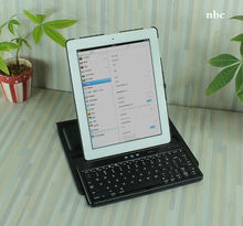 360 rotate Cheap&newest ultra-flat bluetooth keyboard for ipad /iphone