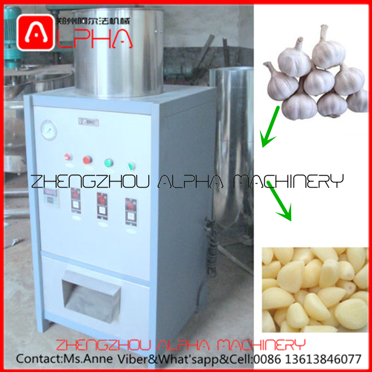 garlic peeler machine