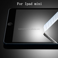 Newly anti fingerprint tempered glass screen protector for ipad mini wholesale price factory supply