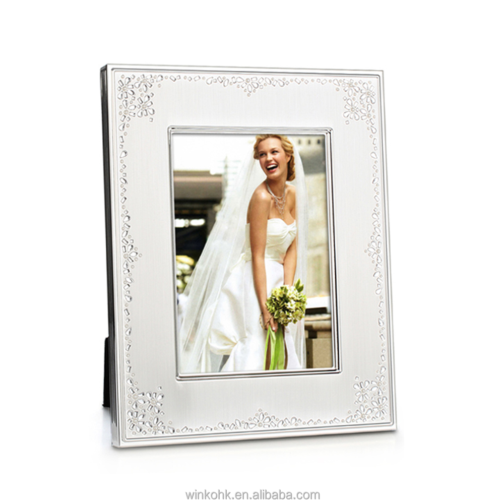 WINKO Seed Pearl Wedding invitation Photo Frame metal photo frame