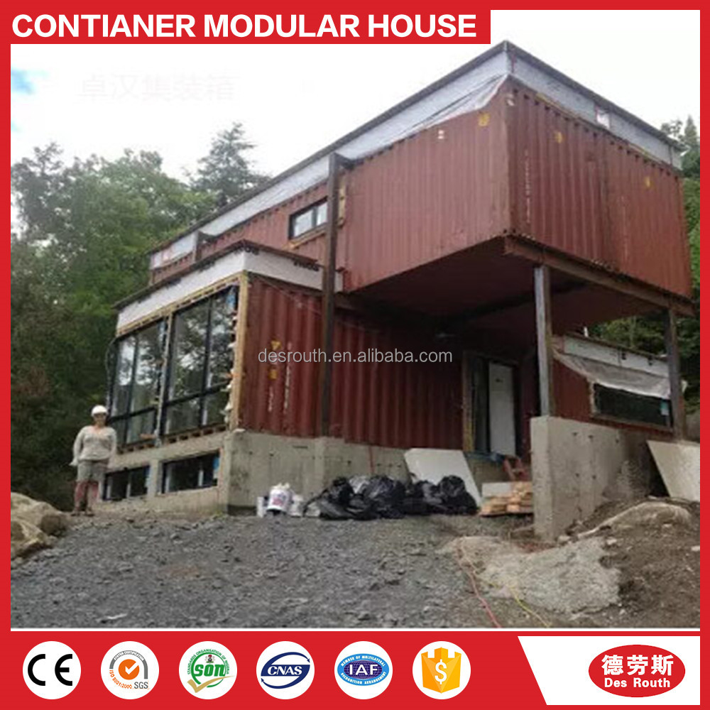 Easy quick assembly custom diy outdoor fast food tiny container house