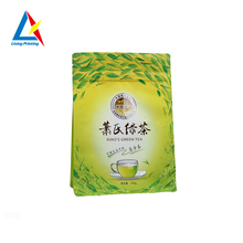 High quality zipper bag packing tea