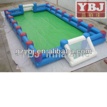 soap football, inflatable soapy football pitch, inflatable sport arena