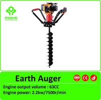 42CC Petrol Post Hole Digger /Planting Tree Auger/ Ground Hole Drilling Machine