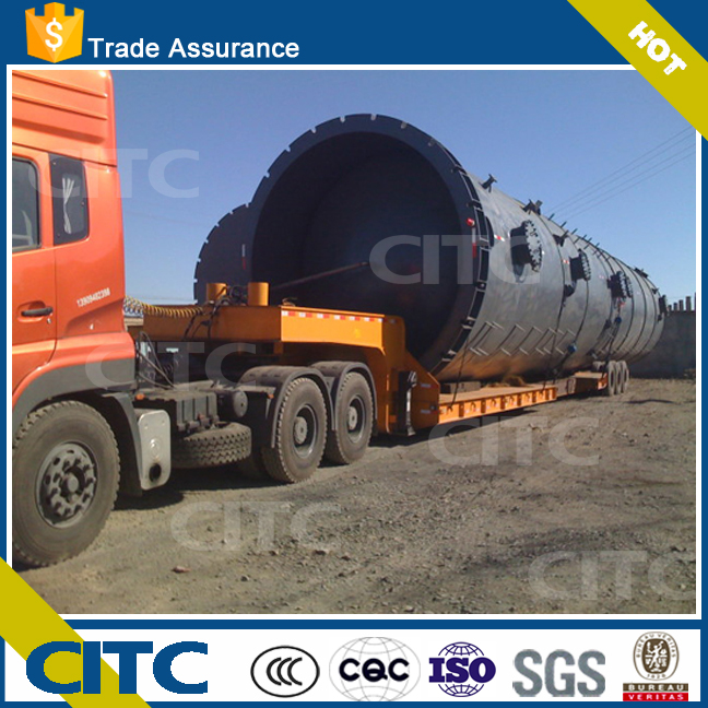 hot sale 30 meter extendable long vehicle truck head optional for goods transport low bed semi trailer citc brand new