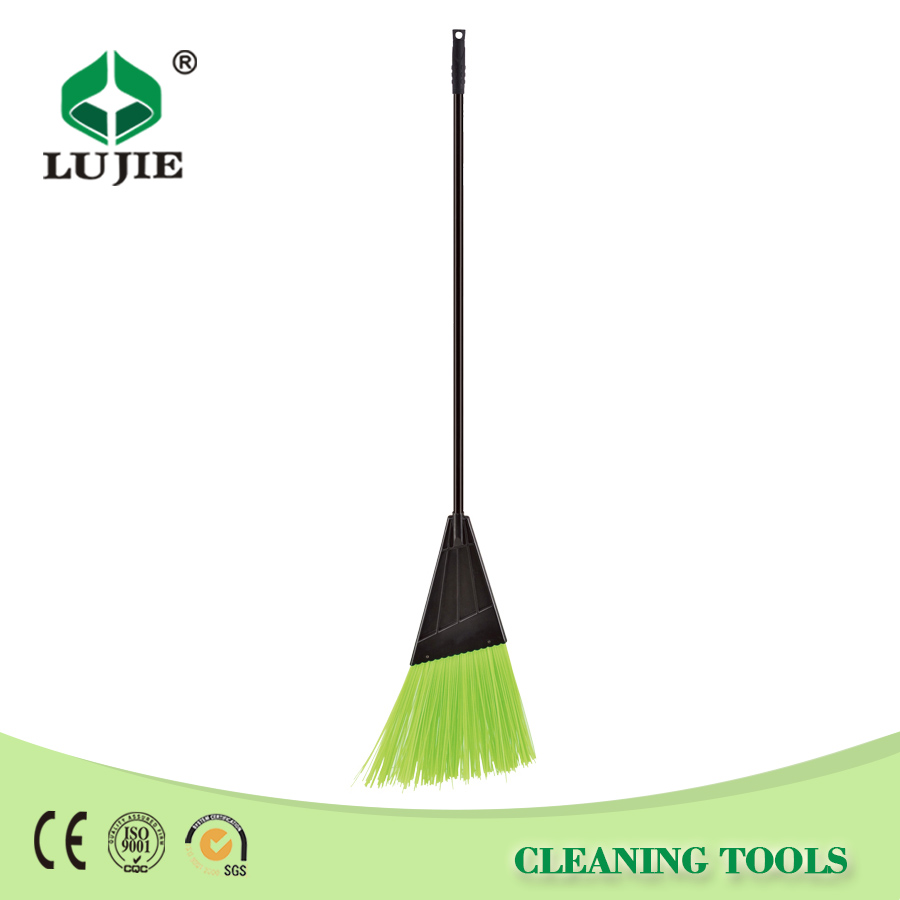 Factory price plastic head iron handle sweep easy broom