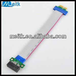 PCI-E 1X PCI Express Riser Card Ribbon Flex Cable