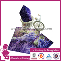 2017 hot special customized lovely beautifual purple sights digital printed hand towel low moq 100% cotton soft and comfortable