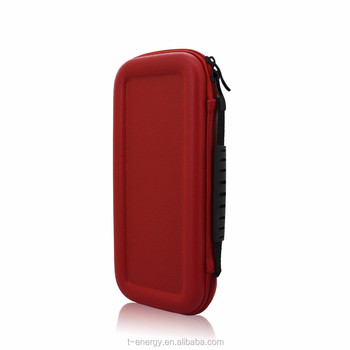 Factory Price, Universal Protective Case for Nintendo Switch Leather Cover Case, Red