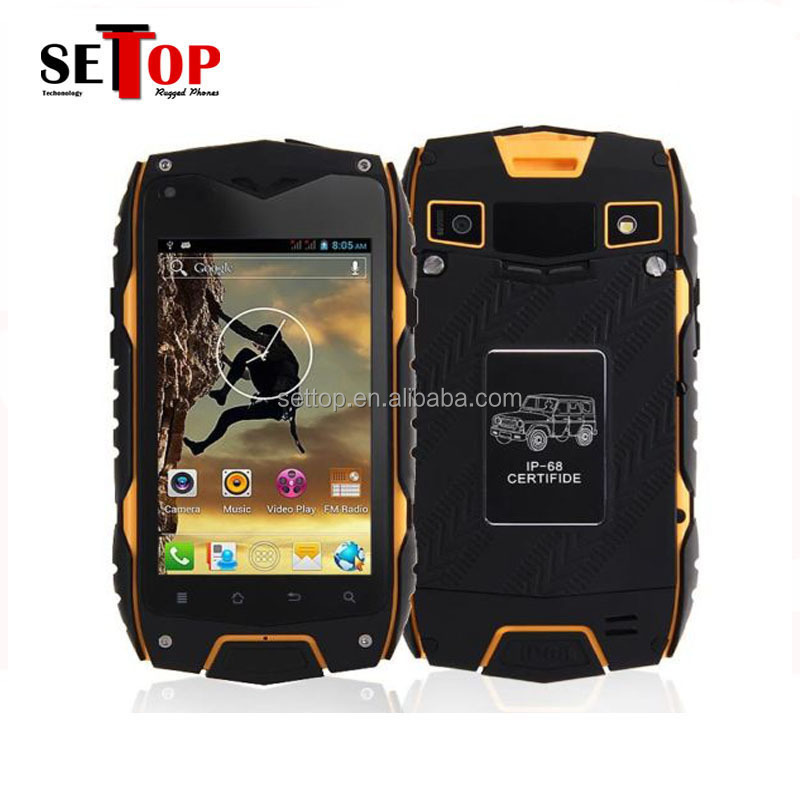 Jeep Z6 android 4.2 outdoor waterproof smartphone reviews