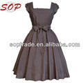 New Arrival Plus Size Women Clothing Summer Cap Sleeve Polka Dots Vintage Dress