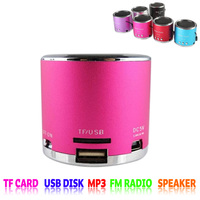 New subwoofer altoparlante wireless mini speakers usb mp3 player with speaker support TF Card USB disk MP3 with FM radio