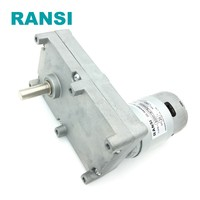 12v 24v dc geared motor with 775 motor