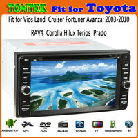 2 year Warranty android 4.0+wince6.0 for toyota avanza car dvd gps navigation