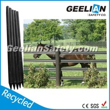 High quality cheap /vinyl/pvc/recycled plastic post fence(customized) with low price