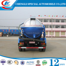 Hot sale DONGFENG 4x2 sewage truck mini vacuum sucking truck for sale