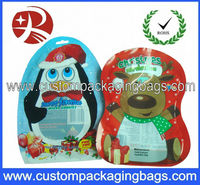 Christmas hats hot packaging plastic bag