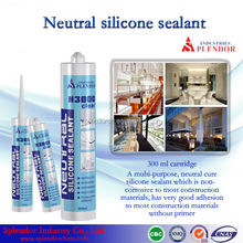 Neutral Silicone Sealant china supplier/ silicone sealant materials use for furniture/ water based silicone sealant