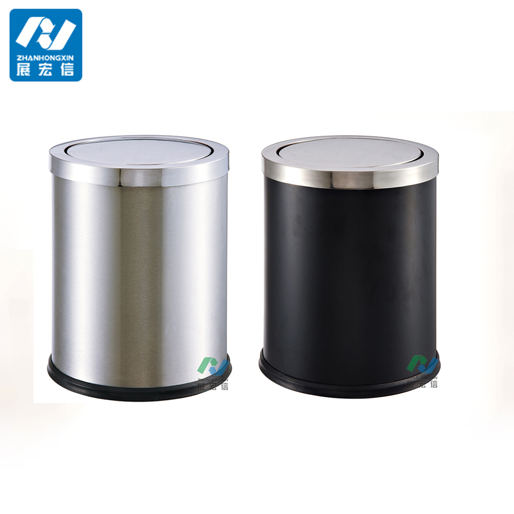 Waste Paper Bin With Swing Lid For Bedroom  Buy Swing Lid Waste Bin,waste  Paper Bin Bedroom,waste Paper Product On Alibaba