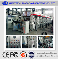 MLMS-A6800 Good Quality middle rail gravure machine
