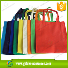 80gsm 100% PP eco bags/recycled nonwoven bag/large tote with logo
