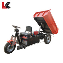 electric 3 wheel motor tricycle use batteries / electric vehicles for adult / high quality rear axle tricycle