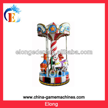 2013 swing carousel,mechanical carousel horse ride