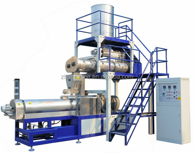 lovely chewing dog food machinery, dog snacks making line
