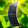 High efficiency 150w thin film solar panel flexible factory direct china gold supplier