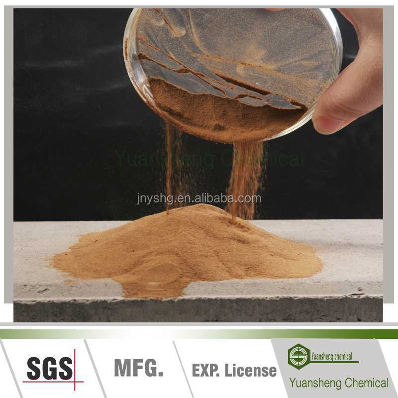 Calcium lignosulfonate lignosulphonate msds/concrete admixture formulation