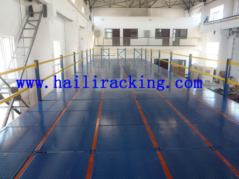 Evergrows adjustable Q235 power coating ISO9001&CE multi-layer steel multi-layer steel mezzanine platform