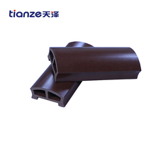 new design high density wpc handrail