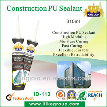 One Component Polyurethane Sealant for Construction Expansion Joint Caulking