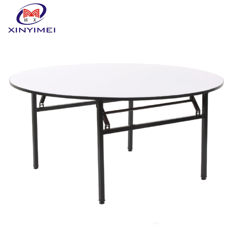 Professional round plastic table top