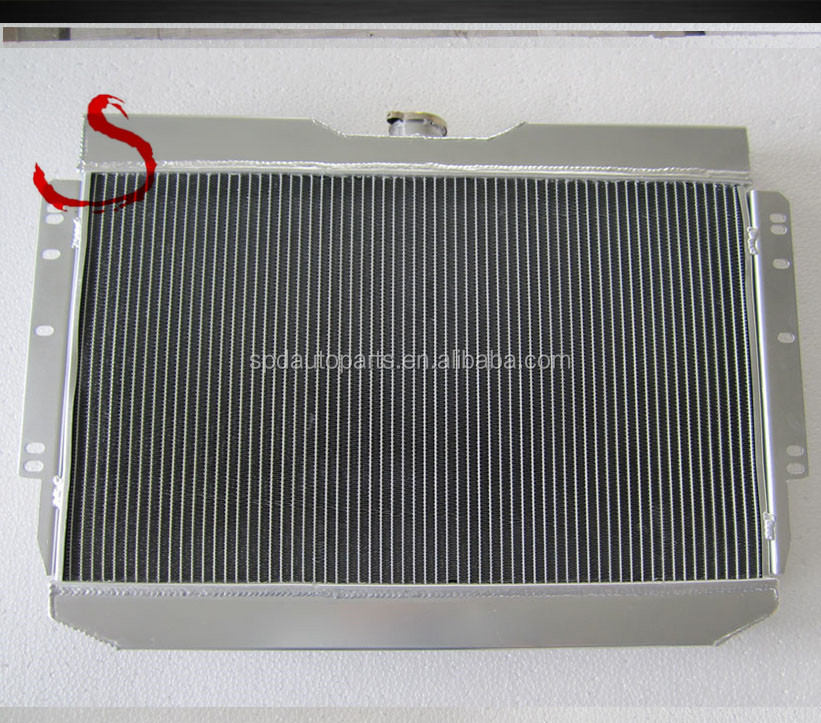 Racing auto car aluminum water radiator for CHEVY Biscayne/Impala/Bel Air