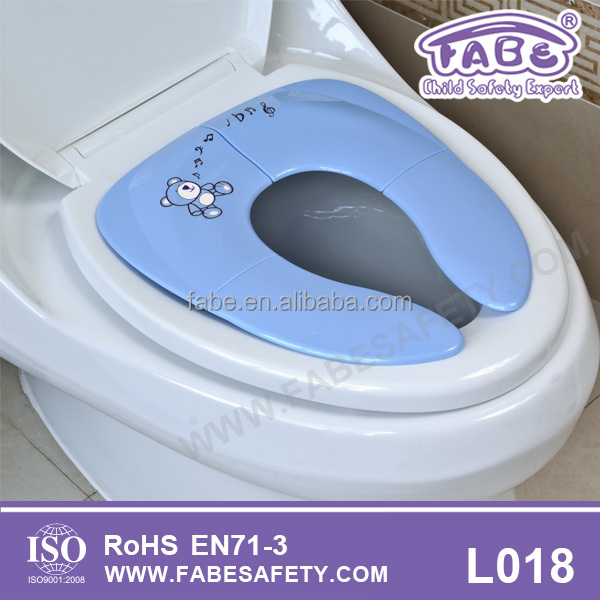 baby potty For Boys and Girls Toddlers Potty Ring For Round And Oval Toilets with Secure Non-Slip Surface