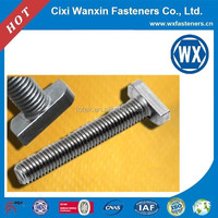 China fastener manufaturer black shank bolt