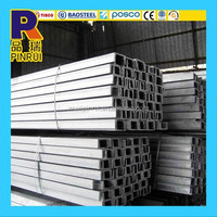 U channel Not Perforated Stainless Steel Channel Bar