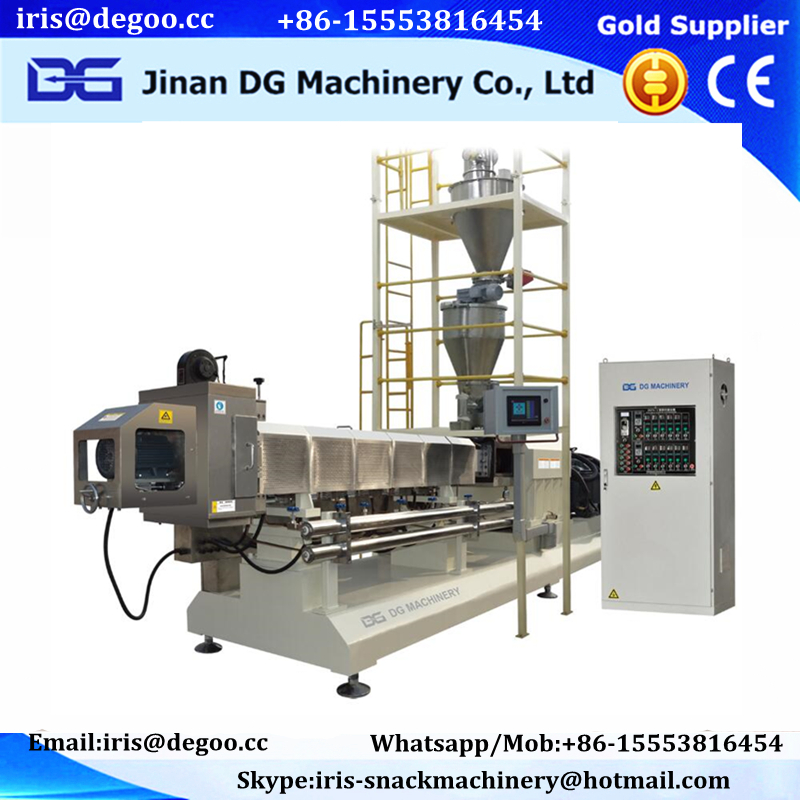 Corn Puffing Pops Snack Extruder Machine/production line/making equipment Jinan DG