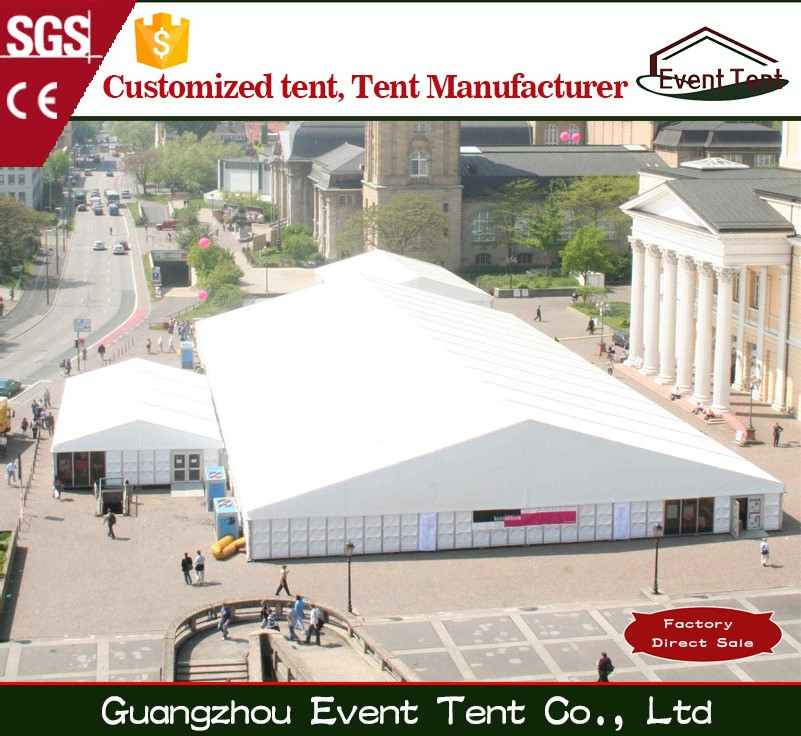 High Quality outdoor big industrial warehouse tent with pvc fabric