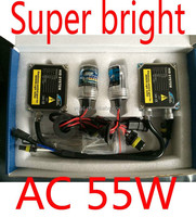 super bright 55w xenon hid ballast with many available bulbs type for car light conversion xenon kit