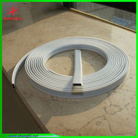 Good magnet force PVC covering rubber seal strip with magnetism