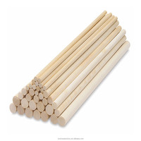 2014 new product household cleaning natural tapered wood dowels