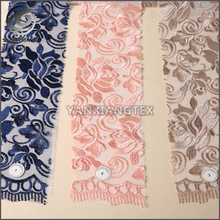 Wholesale Custom High-end Flat Embroidery Design Fabric