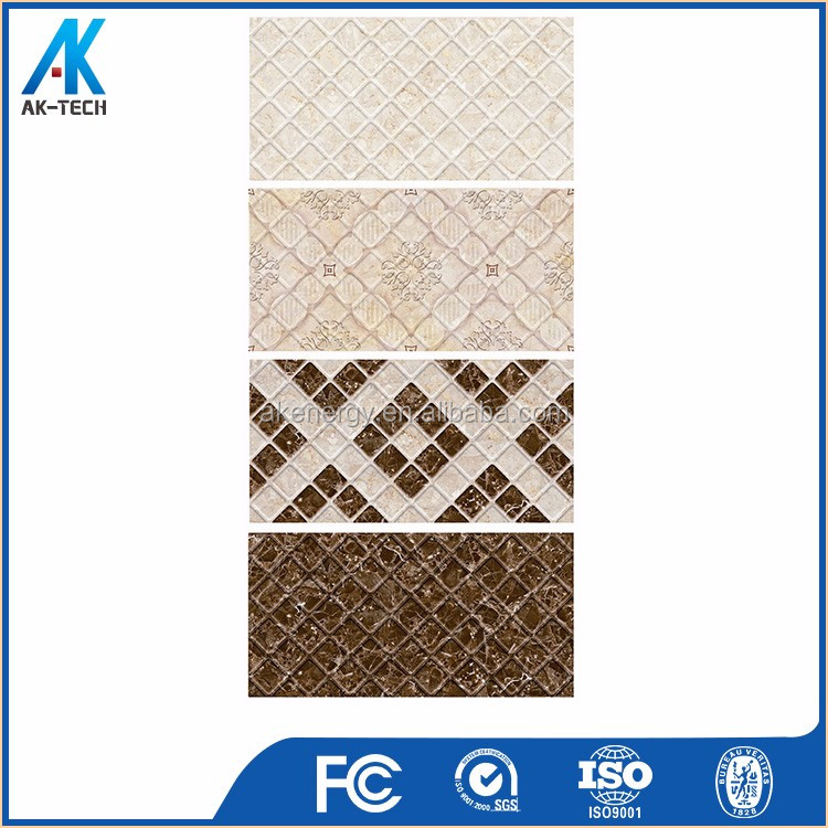 250x400 mm wholesale mosaic 3d paper ink wall tile dubai price