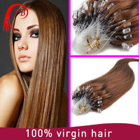 Pre Bonded ring x Keratin micro loop ring Human Hair Extension