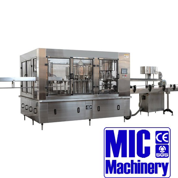 MIC-32-32-10 Micmachinery mineral water plant manufacturers automatic bottle mineral water filling machine