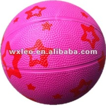 HOT promotional street rubber basketball,pink rubber basketballs,cheap rubber basketball