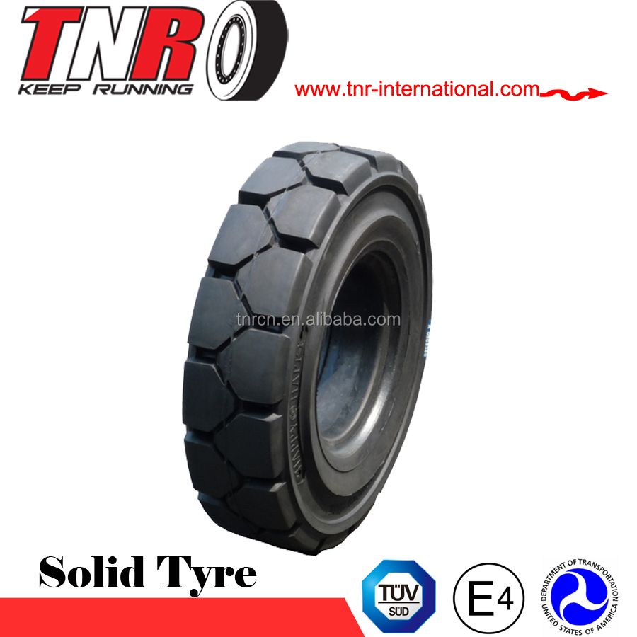 Advanced technology competitive price forklift tire 28x9-15 non marking forklift solid tyre/ tire 6.50-10